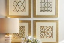 gallery wall ideas / Ideas for walls / by Kimberley Mangiantini