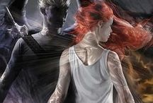The Mortal Instruments & Infernal Devices / Book series by my favorite author, Cassandra Clare.  The Dark Artifices come out 2015!! & City of Bones comes out in theaters August 2013 / by Anna Richmond