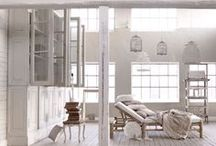 Design Inspiration with: White / This is an inspiration board for home decor with white as the major player.  White is fresh, clean, open, and is truly the most versatile of colors. / by Shannon Foster-Boline Real Estate Professional