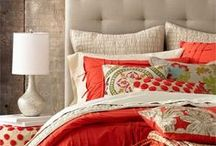 Design Inspiration with: Red / This is an inspiration board for home decor with red as the major player. Red warms a space, is a fantastic accent color, or you can even go crazy and do an entire area with different shades of red.  This color is a call to action and I love that! / by Shannon Foster-Boline Real Estate Professional