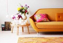 Design Inspiration with: Orange / Oh, Orange!  How many ways you can be used to pop and brighten.  Enjoy the many shades that can brighten your day, your space or your wardrobe! / by Shannon Foster-Boline Real Estate Professional