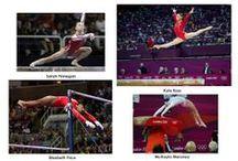 Gymnastics / Artistic Gymnastics, Rhythmic Gymnastics, Trampoline, Acrobatics and more / by Kim Mayhugh Brown