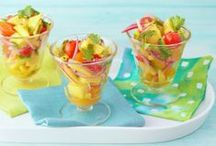 Summer Sides / Find the perfect side dish for your summer picnic or BBQ, including potato salad, pasta salad, cole slaw and grilled veggies. / by Cooking Channel