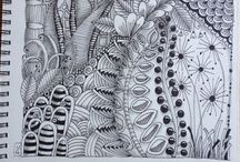 Zentangle and doodles / by Debbie Caselton