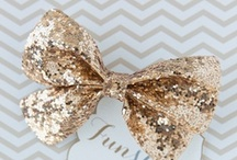 glitter + sparkle / by Oh Lovely Day®