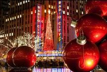 New York City at Christmas / by Karen Vaters