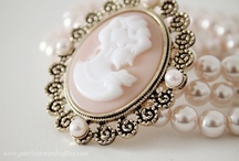 Cameo Cravings ♥ / I have loved cameos from the first ones I got from my sister for my birthday. That was nearly 50 years ago. ♥ / by Debbie Orcutt