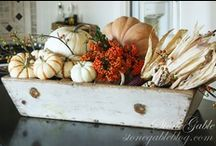 Fall Decorating Ideas / by Postcards from the Ridge