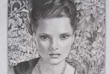 tekeningen ... drawings / by Janita Mantel