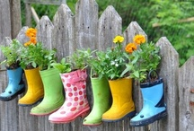 Gardening with Kids / Great ideas for building your own garden and finding fun interesting ways to get your kids involved. Grow the love of gardening in your child.   / by Sharing Visually