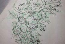 Tattoos & stuff / Tattoos and piercings  / by Kelsey Miller (Webb)