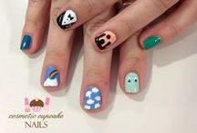 Cosmetic Cupcake Nails / www.cosmeticcupcakenails.com / by 'chelle