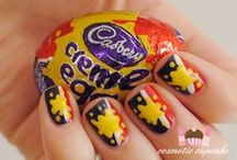Easter nail art / Easter inspired manicures - pastel and chocolate inspired manicures!  / by 'chelle