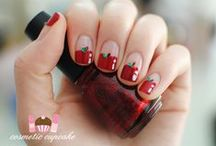 Food nail art / There's nothing more I like than good food and when combined with nails it's the perfect combination! / by 'chelle
