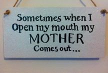 All Things Mommy / Hey moms, you might not admit it out loud...but I know you feel me! / by Amy Gourley-Myers