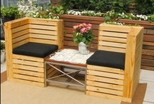 Make it with a Pallet, Crate or Cable Spool etc. / Uses for Pallets, Crates etc. / by Sharon Patnaude