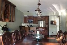 Kitchen / Dining Room / pre - reno / by Nicole Marie