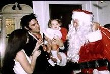 """Elvis and Christmas / It's harder to talk about, but what I really, really, really want for Christmas is just this: I want to be 5 years old again for an hour. I want to laugh a lot and cry a lot. I want to be picked or rocked to sleep in someone's arms, and carried up to bed just one more time. I know what I really want for Christmas: I want my childhood back. People who think good thoughts give good gifts."""" - Elvis Presley  / by Tori"""