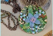 Crafts & DIY: Handmade Jewelry and Bling / What girl doesn't love a little bling to make her feel like a queen? / by Tammy Tutterow