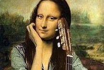 mona ooohhh mona!?! / .nothing happened to me.  / by mostly peculiar