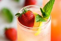 Good Eats- Stay Thirsty, My Friends / Smoothies, cocktails, fruit water, home remedies / by Lara Streck