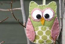 owls / by barn owl primitives