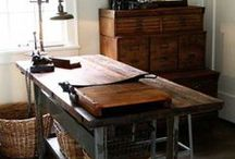 studio / Inspiration for the perfect studio  or craft room  / by barn owl primitives