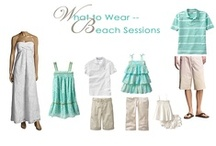 Family & Beach Photography Clients  / What to wear to your session / by Andrea McDaniel