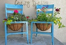 outdoor decor / by Andrea McDaniel