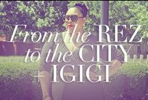 "From Rez To The City + IGIGI - Summer of Style / Blogger Kiah of From Rez To The City teams up with IGIGI to pin her dream romantic getaways, featuring our latest collection ""The Escape Artist""!  You can view Kiah's Blog here - http://fromthereztothecity.blogspot.com / by IGIGI"