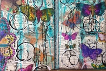 Backgrounds With Gelli Plates / by Creatique Candy