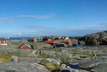 Sweden's West Coast / Stretching from the stylish and handsome city of Gothenburg all the way to the Norwegian border, the beautiful Bohuslän coastline is an eye-pleasing confection of bright-blue sea, over 8,000 granite islands and a generous smattering of red-and-white fishing villages. / by Inntravel