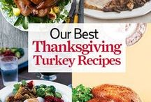 Thanksgiving Turkey Recipes / The best Thanksgiving turkey recipes, including brining tips and more. / by Country Living Magazine
