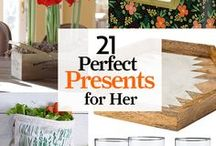 Perfect Christmas Presents for Her / Wrap up something as special as she is: Chic accessories, noteworthy stationery, and cool kitchen accoutrements make memorable gifts for moms, wives, and sisters. / by Country Living Magazine