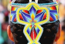 Beadwork Quillwork / Native American beadwork and quillwork / by Angela Teboe