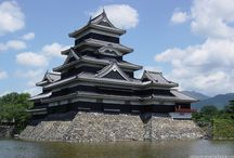 Japanese Castles / Japan has an abundance of castles throughout the country both original and reconstructed. / by Japan Australia