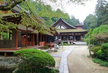 Japanese Temples / Temples are the places of worship in Japanese Buddhism. The most important temples in Japan are found in Kyoto, Nara and Kamakura. / by Japan Australia