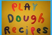Playdough recipes / I have another board for playdough play ideas. This one is just for the recipes! / by Chalk Drop