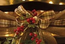 Country Christmas decorating! / by Karen's Treasures