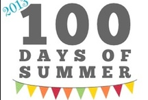 100 Days of Summer '13 / 100+ crafts, recipes,  and screen-free activities to try with your kids in the summer. The ultimate summer boredom buster summer bucket list. Be sure to follow our other two 100 Days of Summer Lists for 200 more ideas to entertain your kids in the summer.   / by Amy Clark (MomAdvice.com)