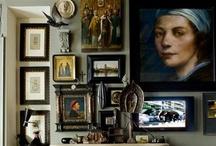 chornii y byillii?  Mya doma maliinky..... / Tiny home of black and white...... / by Suzy Dowling