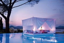 Outdoor Fantasy / Romantic and Unexpected Rooms Outdoors. / by Terry Sutherland