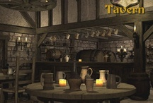 Fantasy Tavern and Inns / Fantasy taverns and Inns and the items they offer for sale. / by Terry Sutherland