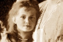 Maria Romanov / Daughter # 3.  An outstandingly beautiful girl who resembled the Danish/Russian side of her family. When you see photos of her namesake and grandmother Dowager Empress Maria Feodorevna as a young woman; the resemblance is very obvious. / by Suzy Dowling