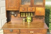 Kitchen Hoosier Cabinets / by Terry Sutherland
