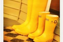 Wellies, Rain Boots / by Terry Sutherland