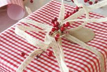 Holiday Wrapping and Paper bags / by Lisa McMillen