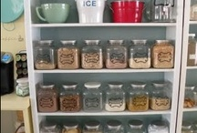 Pantry Basics / Stocking a pantry and preserving food are the staples of keeping your home prepared against the unexpected. As a bonus, they also help to keep the cost of feeding a family down. That's a win for almost any household! / by Carolyn Evans-Dean