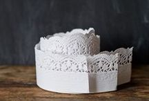 paper doilies / fort & field has a wide selection of paper doilies available to purchase here: https://fortandfield.3dcartstores.com/paper-doilies_c_160.html / by Jessica Cahoon / fort & field