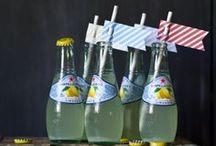 paper straws  / fort & field has a wide selection of paper straws and straw toppers available to purchase here: https://fortandfield.3dcartstores.com/drinking-straws-toppers_c_155.html / by Jessica Cahoon / fort & field